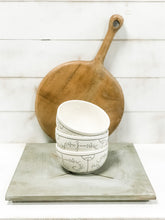 Load image into Gallery viewer, Vintage Stoneware Hand-stamped Bowl - Rustic Barn CT