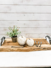 Load image into Gallery viewer, Handmade Wooden Cheese Board - The Rustic Barn CT