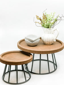 Wood & Metal Risers - The Rustic Barn CT