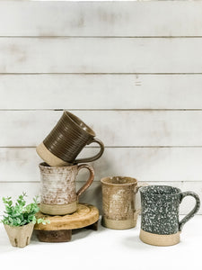 Stoneware Mugs - The Rustic Barn CT