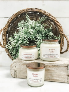 Hazelnut Hand Poured Soy Candle - The Rustic Barn CT
