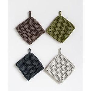 Cotton Crocheted Pot Holders - The Rustic Barn CT