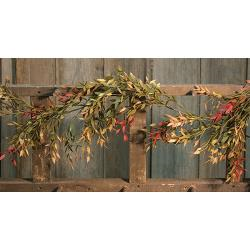 Velvet Ash Garland - The Rustic Barn CT