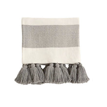 Load image into Gallery viewer, Tassel Throw Blanket