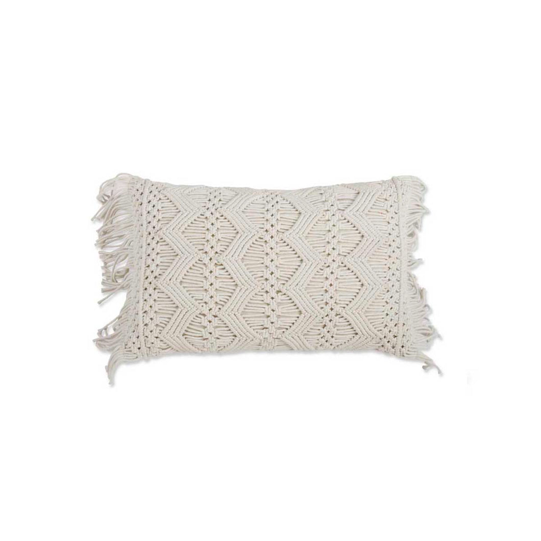 Rectangle Macrame Pillow