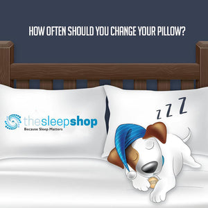 How often should you change your pillow?