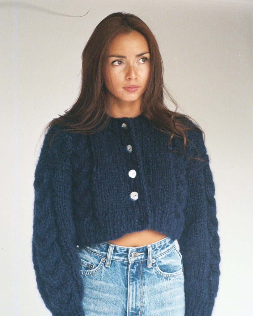 Francesca Cardigan Navy
