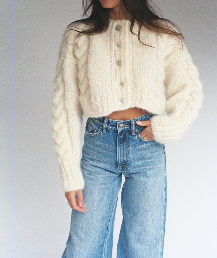 Francesca Cardigan Cream