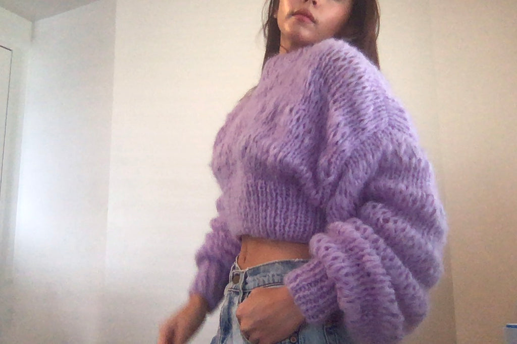 CROPPED CLASSIC LILAC