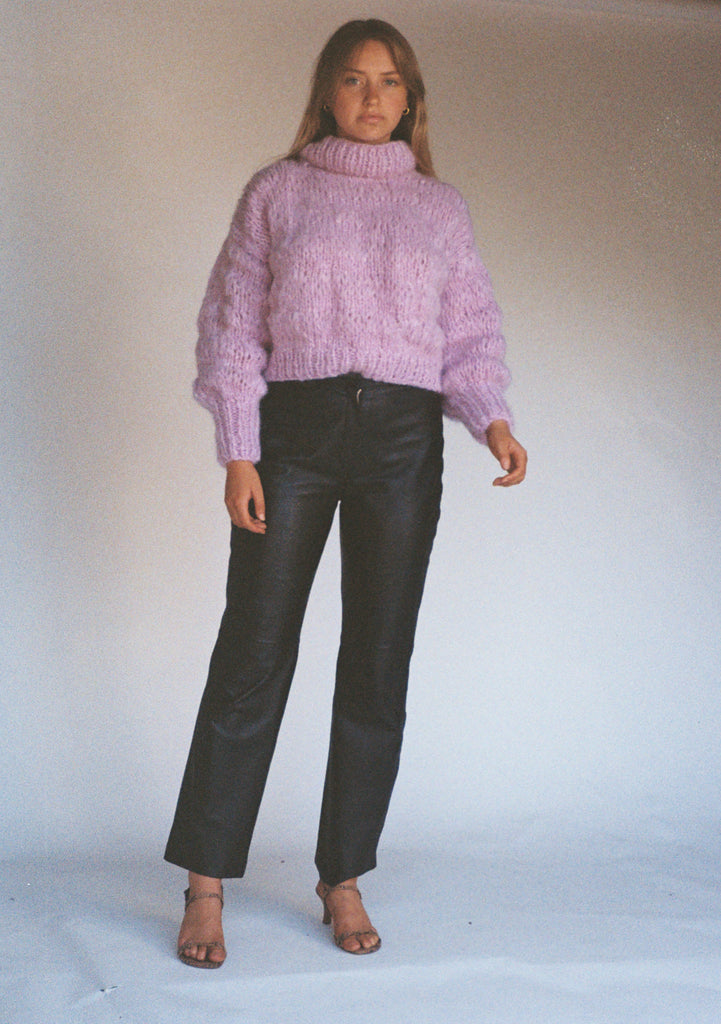 Isabella Sweater Lilac