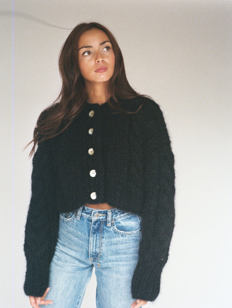 Francesca Cardigan Black