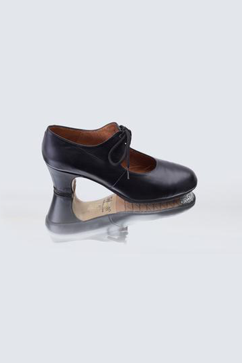 Sevilla Debutante Black Leather Shoes