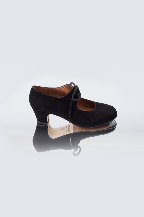 Sevilla Debutante Black Suede Shoes