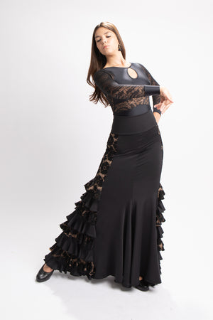 Rocio Flamenco Skirt