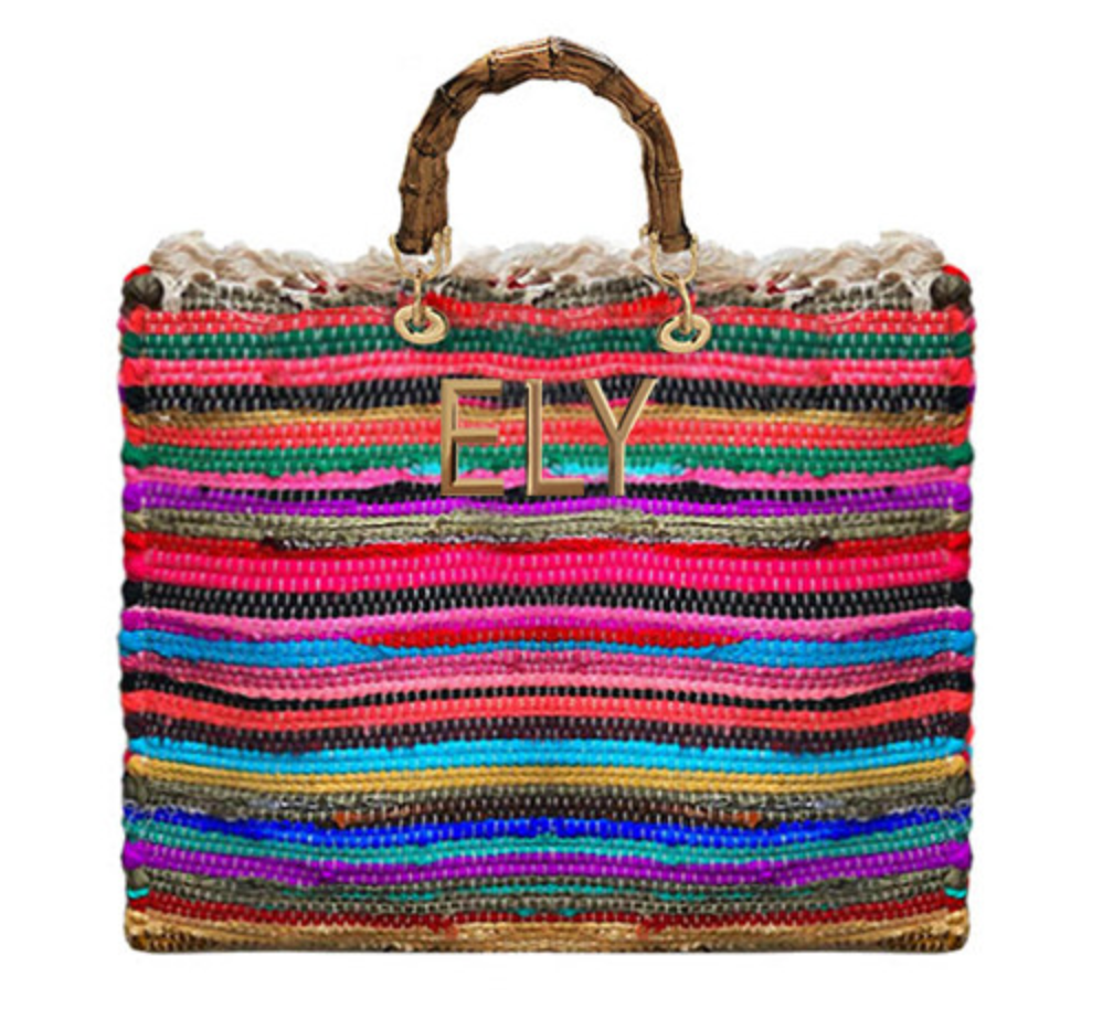 Personalized Gipsy Shopper Bamboo Handles