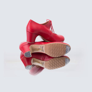 Sevilla Debutante Red Leather Shoes