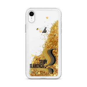 Siudy Flamenco - Liquid Gold Glitter Phone Case