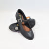 Classic Black Leather Kids Shoes