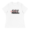 Soy Flamenca Olé -  Women's White Relaxed T-Shirt