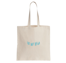 Load image into Gallery viewer, BLU DeTIGER // IN MY HEAD TOTE