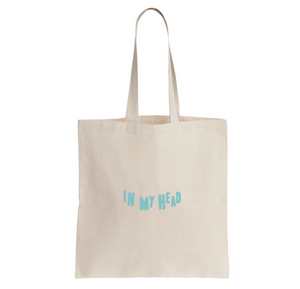 BLU DeTIGER // IN MY HEAD TOTE