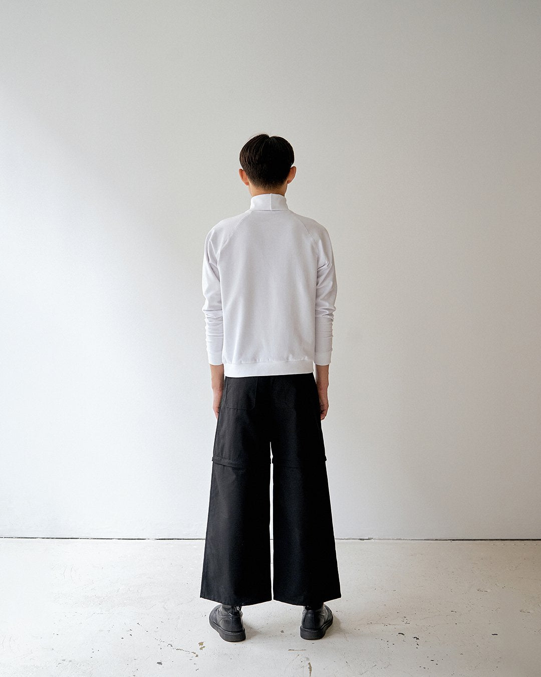 Pants Black ripstop convertible unisex genderless clothing montreal veri