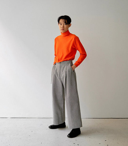 DARIO TROUSERS PANTS HOUNDSTOOTH