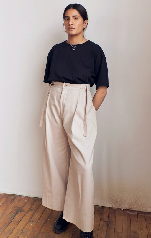 trousers pants oyster unisex dario veri montreal