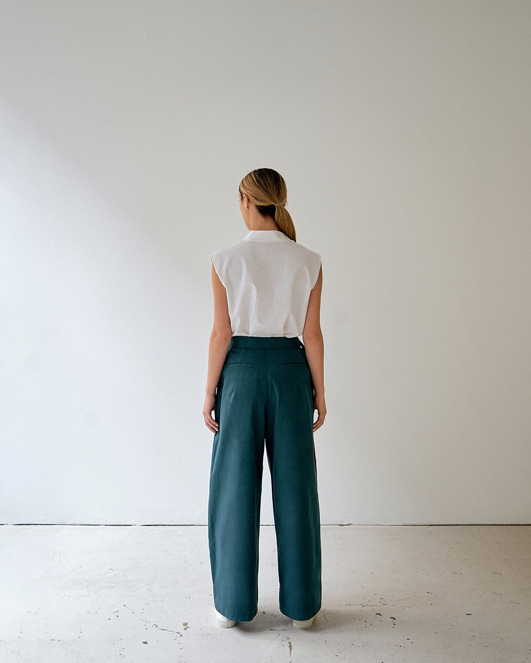 dario trousers pants green