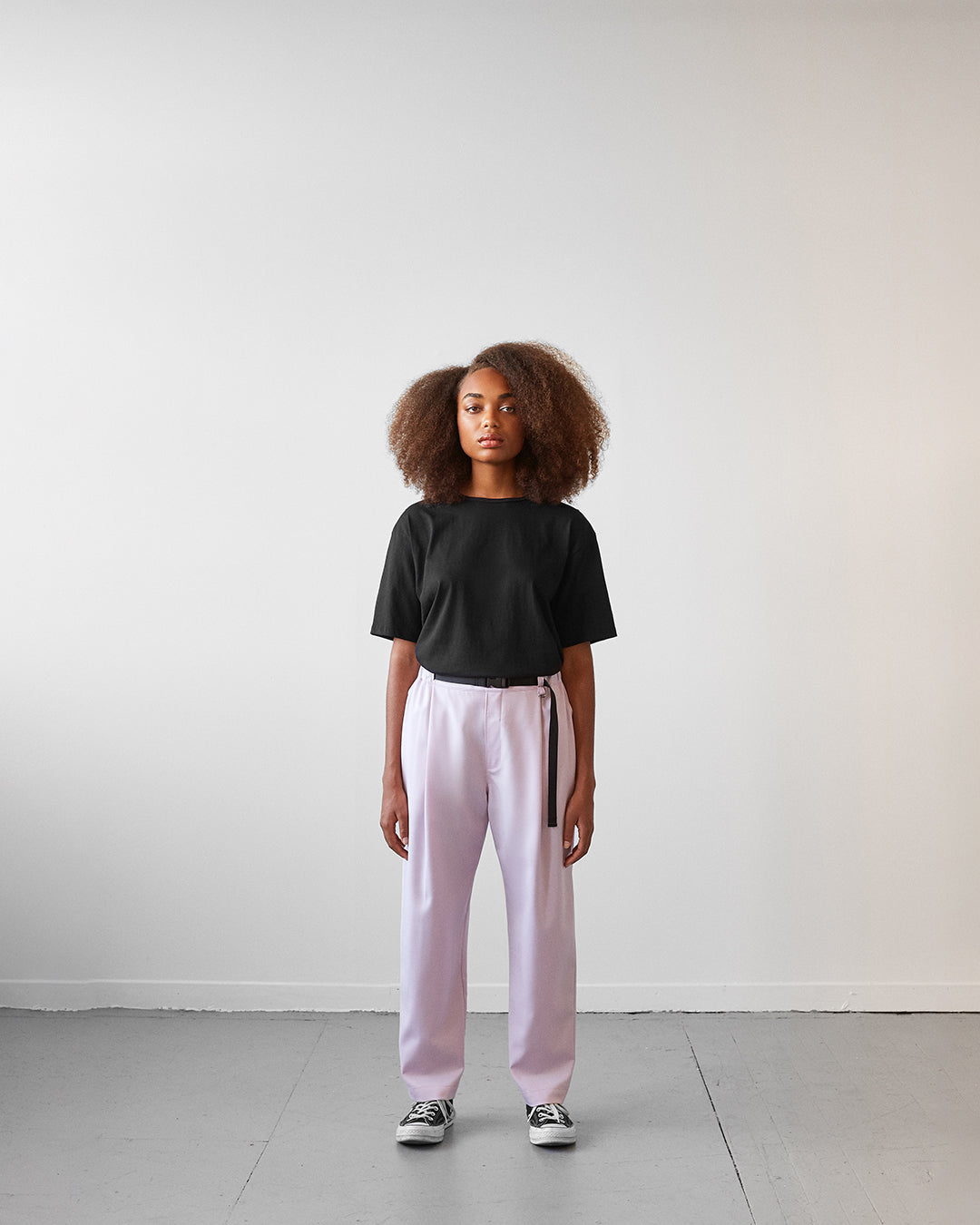 pants elastic pink unisex genderless sunset veri montreal clothing