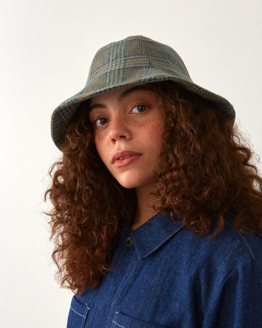 cloche hat plaid unisex genderless london veri montreal clothing