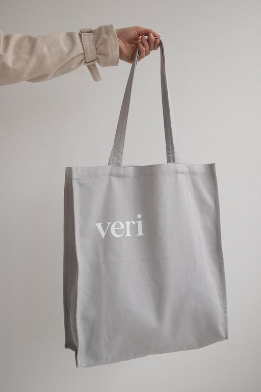 tote bag  light grey unisex veri montreal
