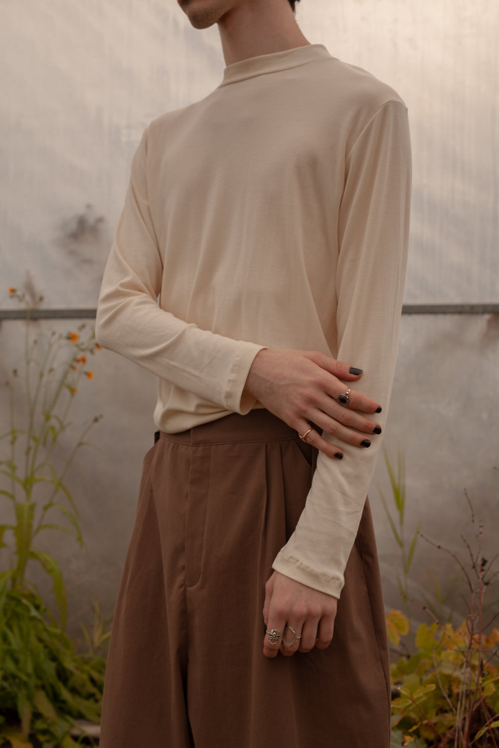 Sweater Cream unisex Antonio genderless montreal veri
