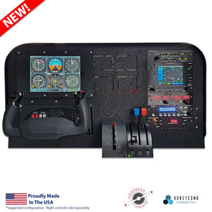 PWS6000 Audio Panel for X-plane by Propwash Simulation