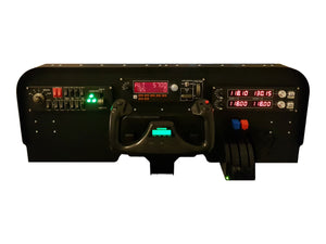 FV2 - Low Profile Cockpit Panel Flight Simulator Kit