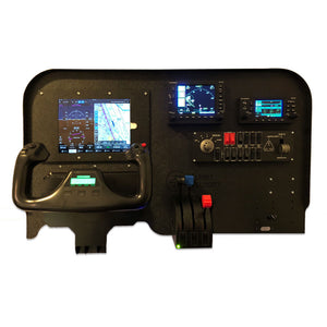 FV5- Mini 530/430 Cockpit Panel Flight Simulator Kit