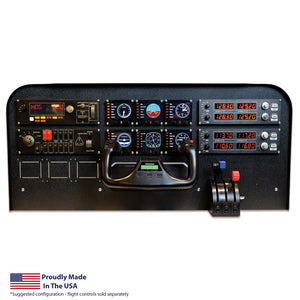 FV7 - Gleim Aviation / Volair Sim Cockpit Panel