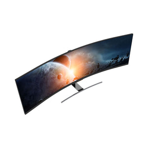 "Viotek SUW49C 49""Super Ultrawide Curved HDR Gaming Monitor - 32:9 3840x1080p 144Hz w/ Remote, FreeSync"