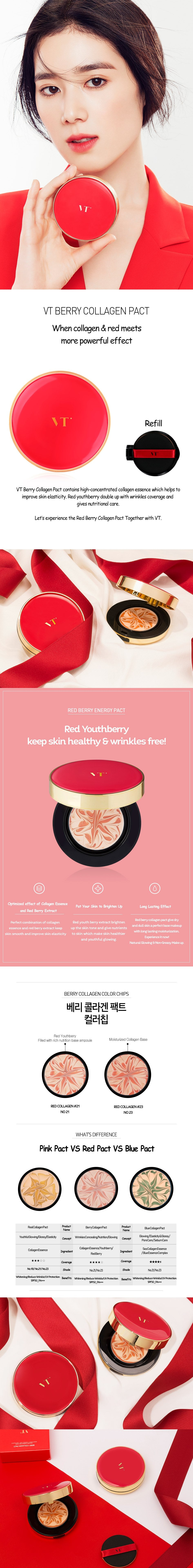VT Berry Collagen Pact - Description