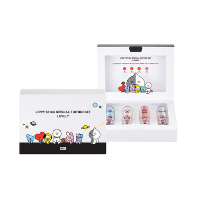 BT21 LIPPY STICK SPECIAL EDITION SET (LOVELY EDITION)