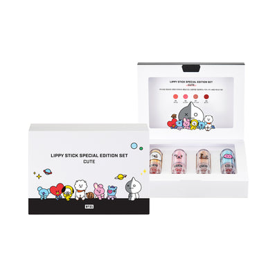 VT BT21 Lippy Stick Special Edition Set- Cute