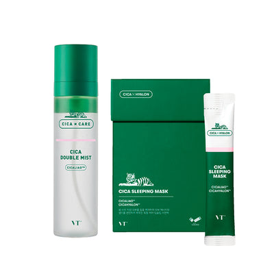CICA SLEEPING CARE SET (CICA DOUBLE MIST + SLEEPING MASK)