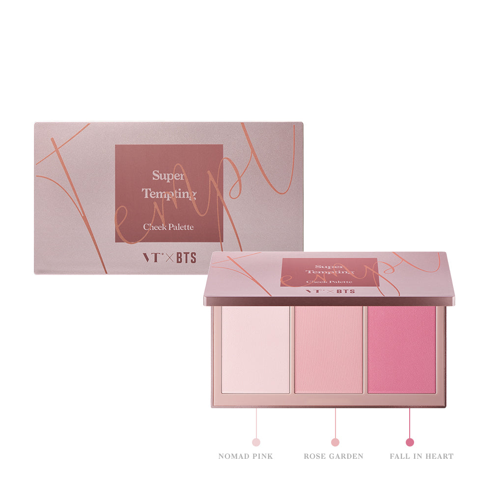 VTXBTS Super Tempting Cheek Palette
