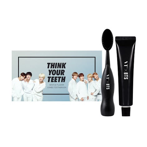 VTXBTS Think Your Teeth Jumbo Toothbrush - Black