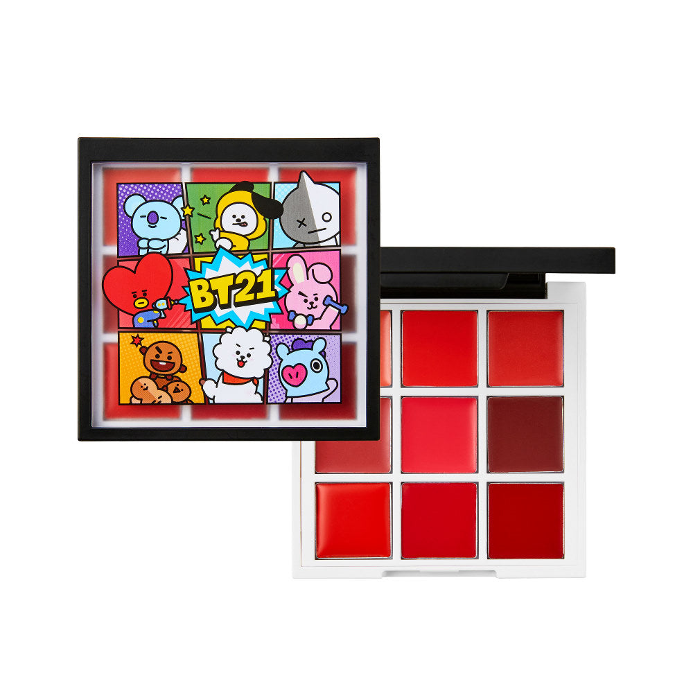 VT BT21 Art In Lip Palette - Image 1