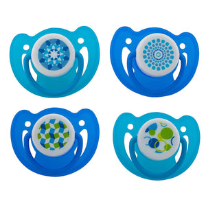 Avima Baby Pacifiers — 12+ Months (Set of 4), Blue