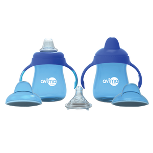 Avima Baby Trainer Cups (Set of 2), Blue