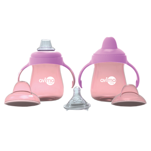 Avima Baby Trainer Cups (Set of 2), Pink