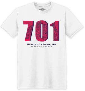 New Rockford Nd >> 701 New Rockford Nd T Shirt
