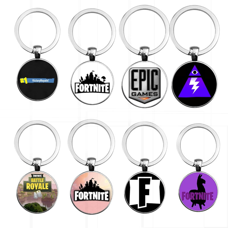 2018 New Fortnite Keychain Ourpeoplecare